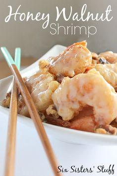 Honey Walnut Shrimp – Six Sisters' Stuff