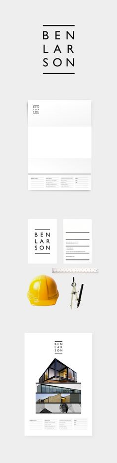 BEN LARSON ARCHITECT by creanet , via Behance