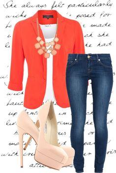 Outfit súper chic y con colores en tendencia. #outfit