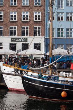 Copenhagen, Denmark...no wonder I love Hobart. so like this!