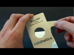 Iris business card that moves!what a great idea that sets you apart from other photographers... Sweet as fuck.. Watch the video
