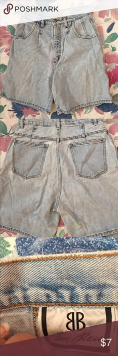 UEC Bill Blass Blue Jean Shorts Size 10. Excellent Condition! Bill Blass Size 10 blue jeans shorts with 4 pockets. Made of 100% cotton. Great for the warmer months ahead. Get them while you can ladies! Bundle up purchases and save even more! Bill Blass Shorts Jean Shorts