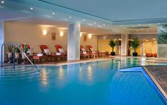 Make some 'me' time in the relaxing spa at Hotel Palace, Berlin. The perfect way to enjoy a little business... and leisure.