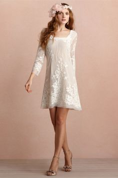 Daisy Doll Dress (BHLDN)... So cute as rehearsal dinner dress, getaway dress, or honeymoon dress :)