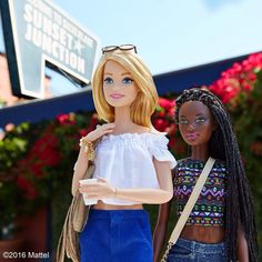 Ending my staycation with a sunny day in Silver Lake! ☀️ #barbie #barbiestyle