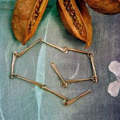 Sharilyn Miller's tute on how to make a bone chain. #Wire #Jewelry #Tutorials