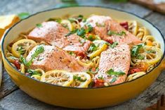 One Pan Salmon Linguine from @Tom Thumb