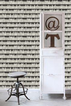 Vliesbehang Amsterdamse Huizen zwart-wit
