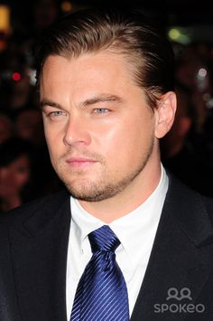 "Leonardo DiCaprio at the UK film premiere of ""Body Of Lies"" held at Vue Leicester Square"