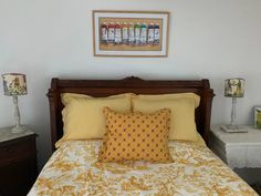"""Toile print by Manuel Canovas - """"La Musardière"""" - gives its name to this charming room"""