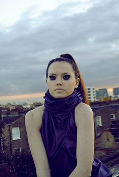 Daisy Ridley - Star Wars Episode VII actress. Photographed by Margo Krindal