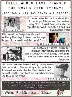 """An error that ascribes to a man what was actually the work of a woman has more lives than a cat."" -Hertha Ayrton"