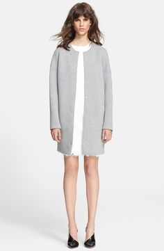 Oversized Neoprene Coat - from @nordstrom #nordstrom
