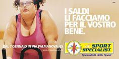 DF Sport - ATL communication Campagne Saldi #Dandelio #dieciannidiidee