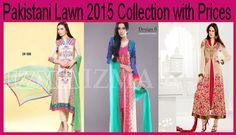 Pakistani Lawn 2015 Collection with Prices
