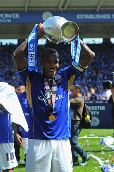 Wes Morgan - Leicester City Champions - 2013 14 Leicester City Fc cb6bc69739c31