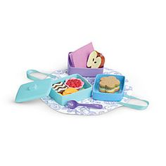 American Girl® Dolls: Stackable Lunch Set cute perfect for Renesmee aka Saige :)