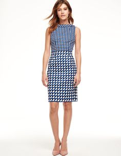 I like the style and the idea of a pattern/print for variety.  (Most of my work dresses are solids.)