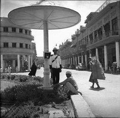 شارع الرشيد ساحة الملك فيصل وحافظ القاضي لاحقا