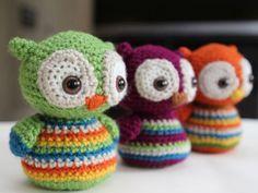 Bebê Owl ❥ 4U // padrão aqui