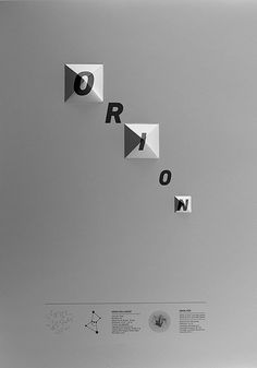 ORION on Behance