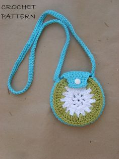 crocheted coin purse PATTERN PDFFILE by crochetingforgirls on Etsy, $3.00