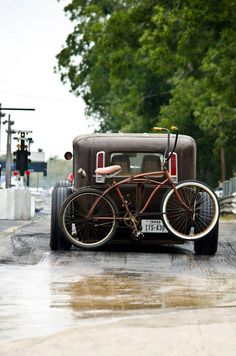 kustom love #style #bike #car #vintage