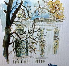 Have Watercolors Will Travel: Why a Long Weekend in Bucharest Is Way Too Short