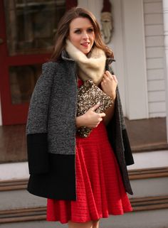 Penny Pincher Fashion: Holiday Red