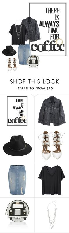 """""""LOUDER"""" by agnesegundega on Polyvore featuring Y/Project, BeckSöndergaard, Aquazzura, Calvin Klein, R13 and Accessorize"""