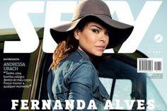 Fernanda Alves nua ou pelada revista Sexy