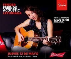 Mundo Leturiaga hoy te acerca Neus Ferri, Guitarra Clásica Rafael Martin y sintetizador semi-modular MOOG MOTHER-32