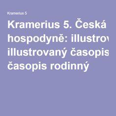 Kramerius 5. Česká hospodyně: illustrovaný časopis rodinný