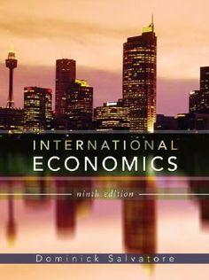 International Economics, by Dominick Salvatore, traveled to Pennsylvania in December 2012. http://libcat.bentley.edu/record=b1266910~S0