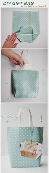 紙バッグの作りかた