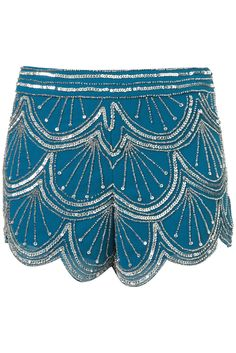 embellished shorts...love these with some stockings and pumps