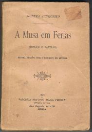 A Musa em Férias (Idilios e Satiras) | VITALIVROS