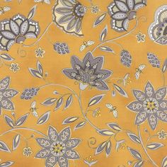 1/2 Yard - BEE CREATIVE - Gold Flowers & Bees - by Deb Strain for Moda Fabrics. by lavenderquiltsllc on Etsy