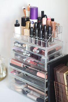 51 Genius Way To Organize Your Make Up. Acrylic Makeup StorageMuji ... & A Muji Makeup Storage Overhaul | Pinterest | Muji makeup storage ...