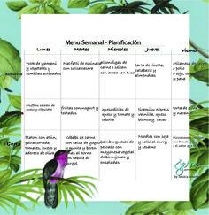 menu semanal: Jessica Lekerman