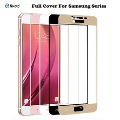 Full Cover Tempered Glass for Samsung Screen Protector Film