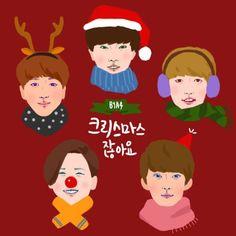 Noticias K-POP: B1A4 revela sua primeira canção de Natal!