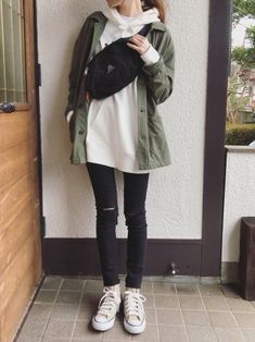 Boyish Outfits, Cute Casual Outfits, Pretty Outfits, Ulzzang Fashion, Tomboy Fashion, Fashion Outfits, Korean Street Fashion, Korea Fashion, Simple Outfits For Teens