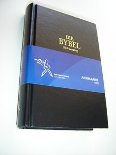 Afrikaans Bible / Die Bybel met herformulerings / 2011 print South Africa / Maps and Woordelys at the end