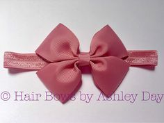 Baby Headbands Toddler Hair Bows Pink Hair Bows Toddler