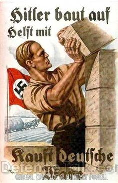 German WW II poster