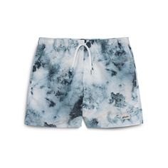 Black Water Drops Abstract Background Men/â/€s Beach Board Shorts Quick Dry Swim Truck Shorts
