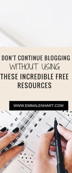 Stuck in a rut with your blog? Check out the website to get TONS of free resources that will help you grow and establish your own blog.