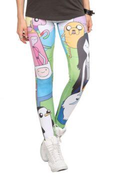 Adventure Time Character Leggings