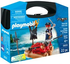 Let your little buccaneers set sail on a high-seas adventure with this Pirate Raft Carry Case by Playmobil. Playmobil Pirates, Playmobil Sets, Floating Raft, Toy Playhouse, Walmart, Pirate Life, Pirate Theme, Set Sail, Tsunami